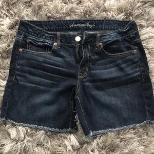 American Eagle cut off shorts size 8